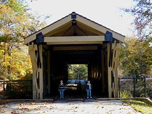 lake hartwell covered bridge